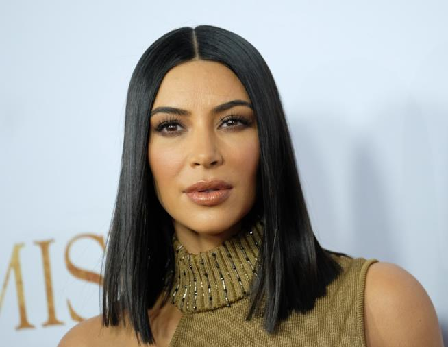 Kim Kardashian alla premiére di The Promise