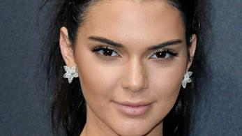 Kendall Jenner in primo piano
