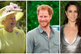 La Regina Elisabetta, Harry e Meghan Markle