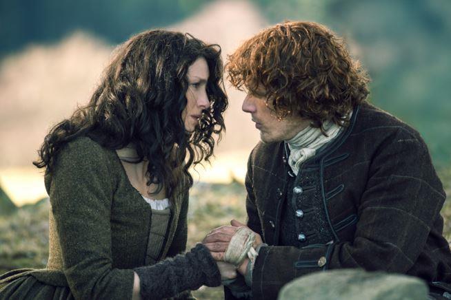 Outlander Jamie e Claire