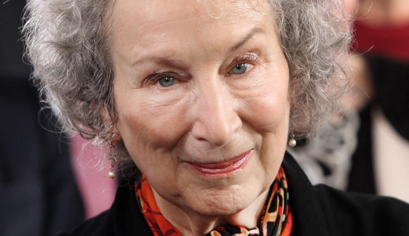 L'autrice Margaret Atwood