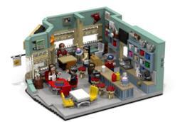 Una Mamma per Amica, ecco il set LEGO che potrebbe essere commercializzato