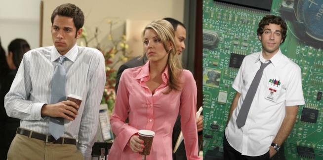 Due foto di Zachary Levi nei suoi ruoli in Perfetti... ma non troppo e Chuck