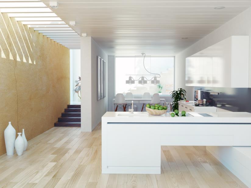 Pavimenti Per Cucina E Soggiorno.Come Far Durare A Lungo Un Pavimento In Parquet In Bagno E