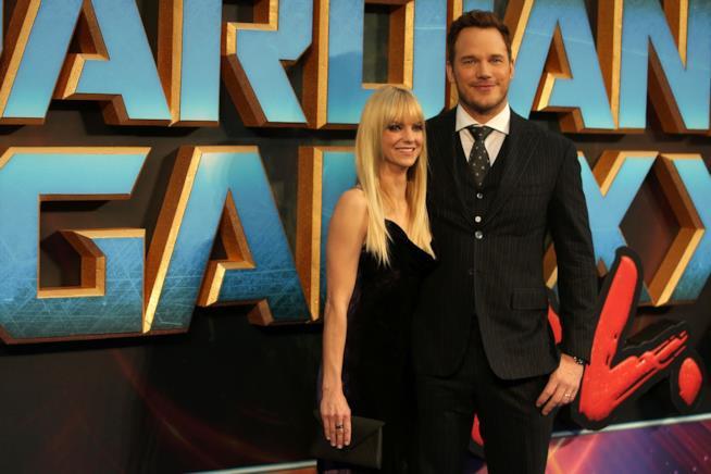 Chris Pratt e Anna Faris