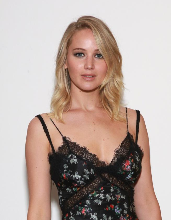 Jennifer Lawrence allo screening di madre! a New York