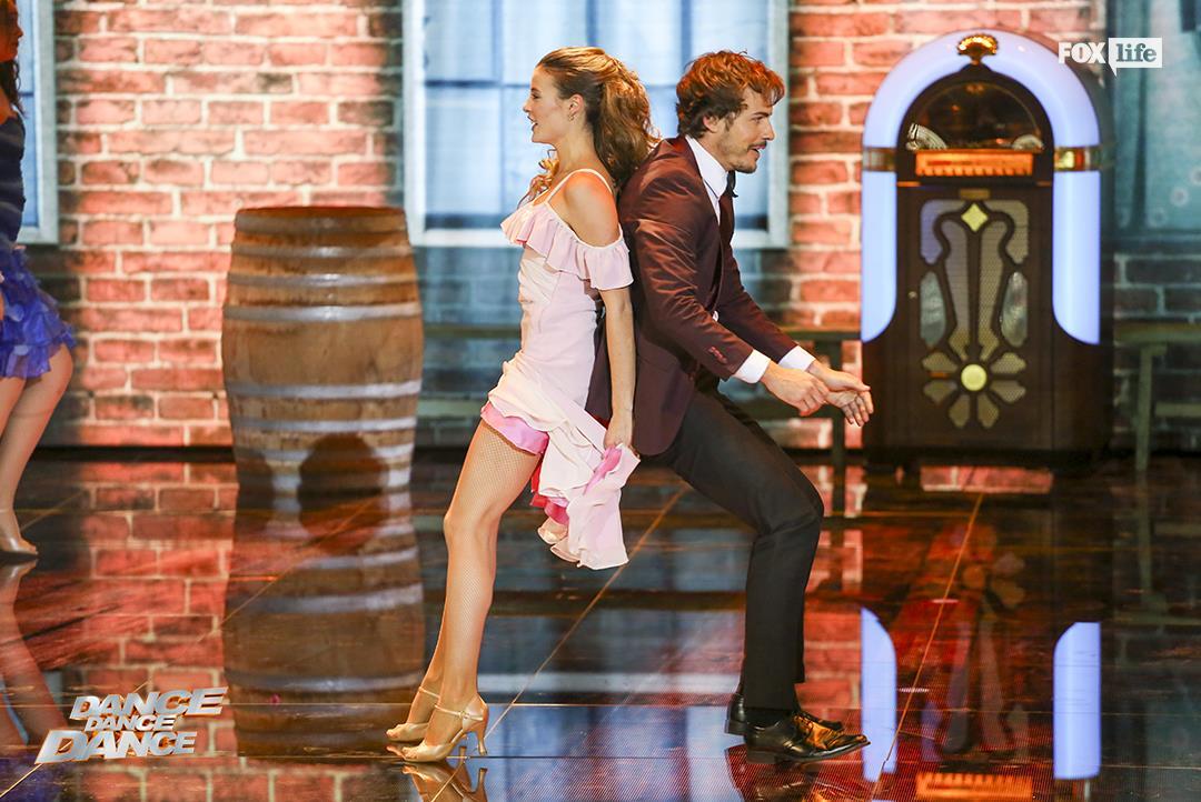 Raniero e Beatrice nel terzo serale di Dance Dance Dance