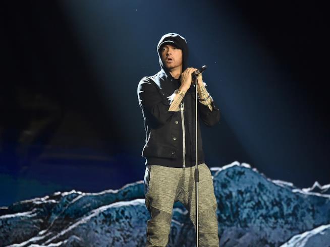 MTV EMAs 2017: la performance di Eminem
