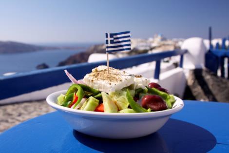 Insalata greca tradizionale