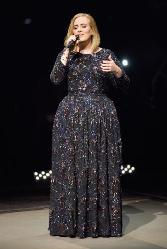 Adele, esibizione live
