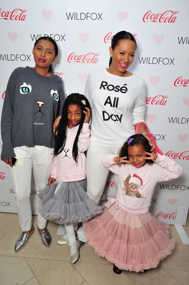Mel B con le figlie