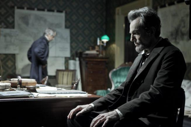 Una scena di Lincoln