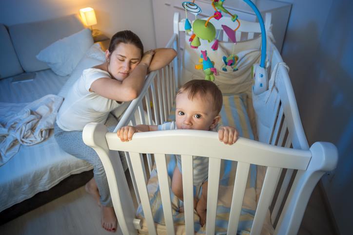 Insonnia neonato: bambino che non dorme