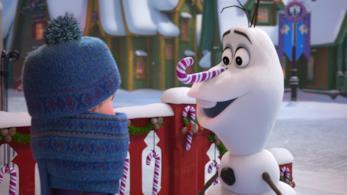 Un'immagine del corto Olaf's Frozen Adventure