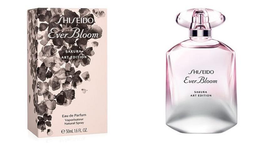 Shiseido crea la nuova fragranza ispirata ai fiori di ciliegio,