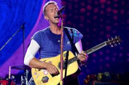 Chris Martin durante una esibizione live