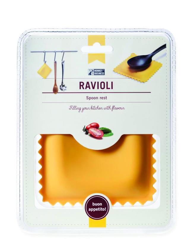 Il regalo perfetto per un'amica amante della cucina: il raviolo posa mestolo