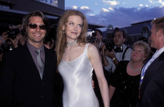 Un vecchio scatto di Tom Cruise e Nicole Kidman