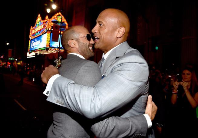 Dwayne Johnson e Jason Statham