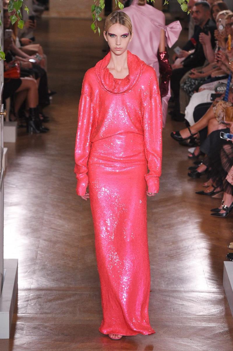 Sfilata VALENTINO Collezione Alta moda Autunno Inverno 19/20 Parigi - ISI_4069