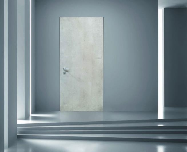 Porte a filo muro soluzione perfetta per case ariose ed for Porta filo muro grezza