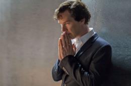 Benedict Cumberbatch nella serie TV Sherlock