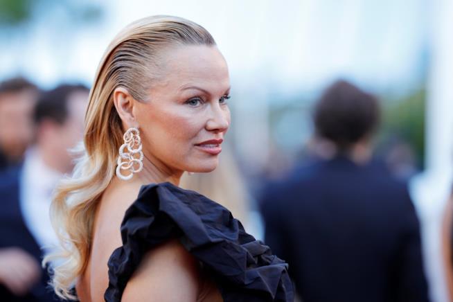 Primo piano di Pamela Anderson