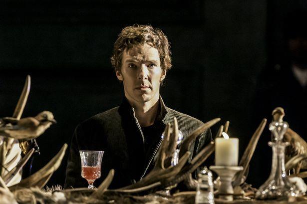 Benedict Cumberbatch nei panni di Amleto