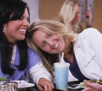 Callie e la Hahn in un'immagine da Grey's Anatomy