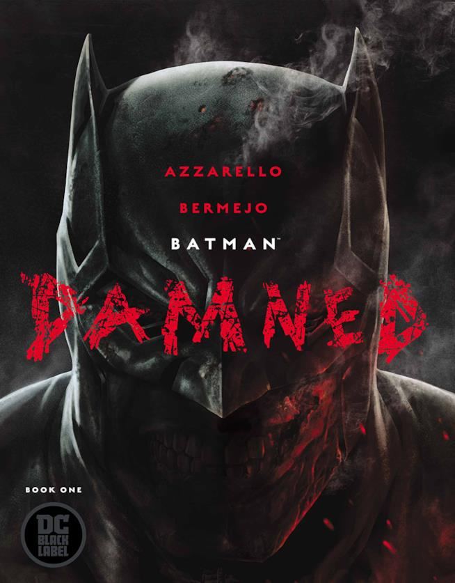 Batman: Damned copertina