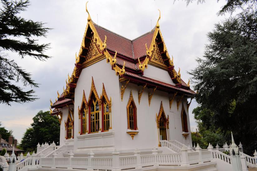 Il Wat Buddhapadipa Temple, tempio buddista a Londra