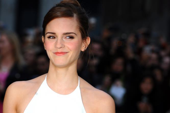 Emma Watson ad un evento a Londra