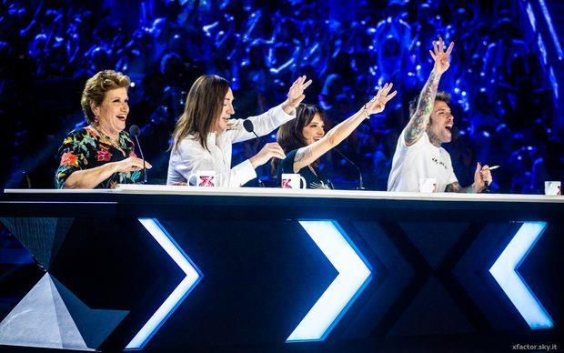 I giudici di X Factor Italia 2018