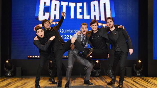 E poi la notte c'è Bruno Vespa da Cattelan