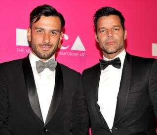 Ricky Martin e il marito Jwan Yosef