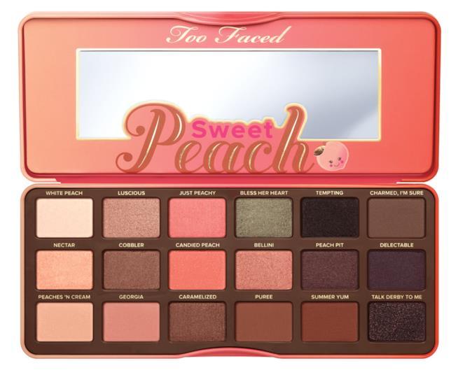 Sweet Peach palette di Too Faced