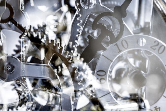 Ingranaggi di un orologio