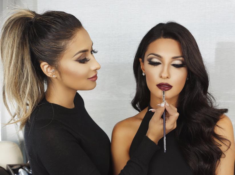 La make-up artist Tamanna Roashan