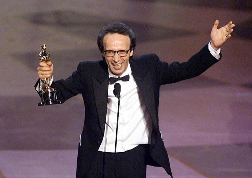Roberto Benigni e il discorso di ringraziamento agli Oscar