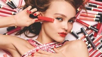 Lily-Rose Depp nella nuova campagna beauty di Chanel