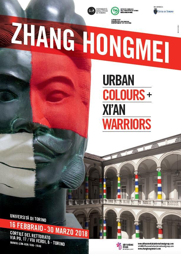 La locandina di Zhang Hongmei a Torino