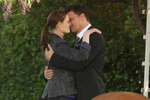 L'amore tra Booth e Brennan in un'immagine