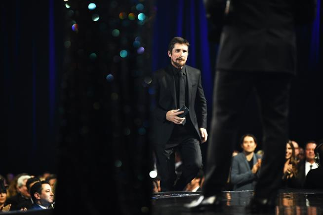 Christian Bale ai Critics Choice Awards