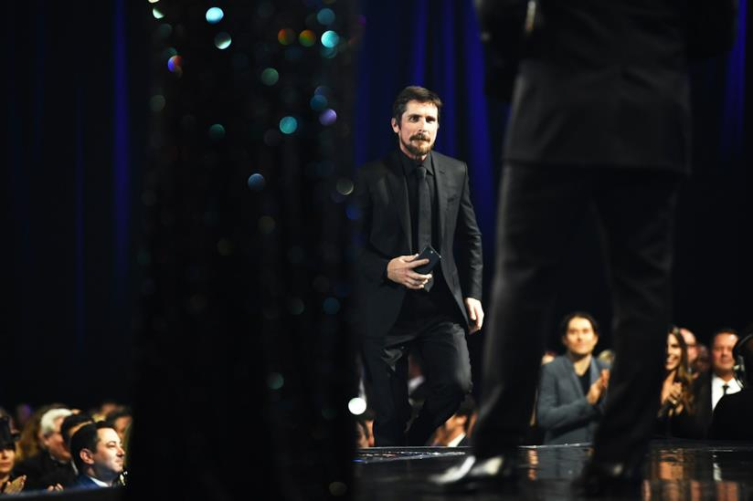 Christian Bale ai Critics Choice Awards