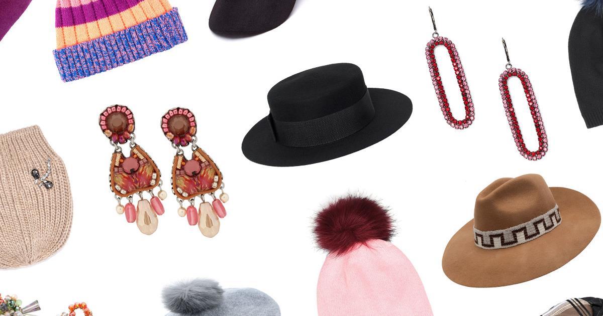 Teste alla moda  i cappelli e i bijoux per l inverno 2019 4ee45e309b14