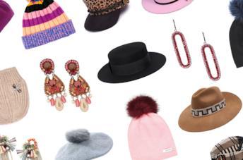 Cappelli e orecchini di tendenza per l'inverno 2019