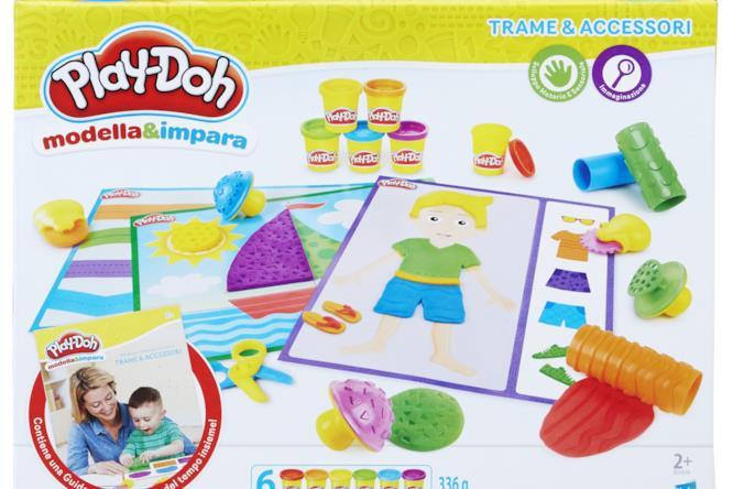 """Play-Doh """"Modella & Impara - Trame e accessori"""""""
