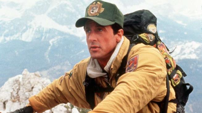 Sylvester Stallone protagonista in Cliffhanger