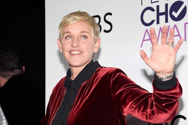 Ellen DeGeneres sul red carpet