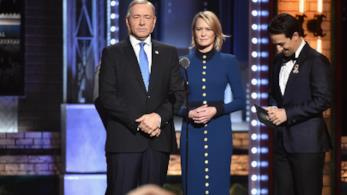 Robin Wright e Kevin Spacey: